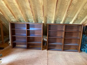 """Solid Cherry Thomasville book shelves 54-1/4""""wide x 46.5""""Wide for Sale in Atlantic Highlands, NJ"""