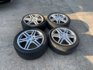 """Mercedes 18"""" wheels for Sale in Grand Prairie, TX"""