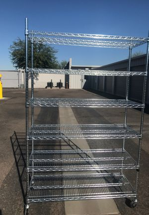 stainless steel shelves for Sale in Tolleson, AZ