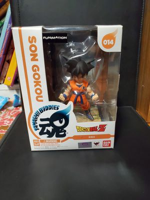 Bandai Tamashii Buddies Dragonball Z #014 Son GoKou 10CM figure Japan funko for Sale in Dallas, TX