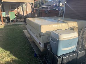 Coleman colonial tent trailer camper for Sale in Fresno, CA