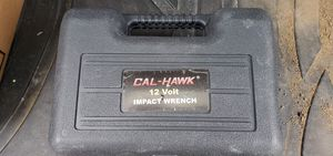 LIKE NEW CAL HAWK 12 VOLT IMPACT WRENCH for Sale in Monroe Township, NJ