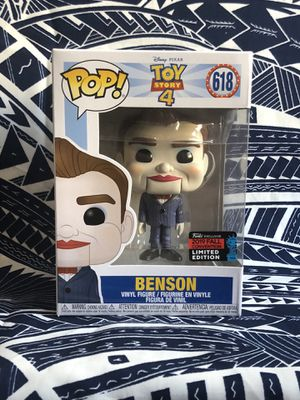 Benson Funko pop toy story 4 nycc shared 2019 for Sale in Fullerton, CA