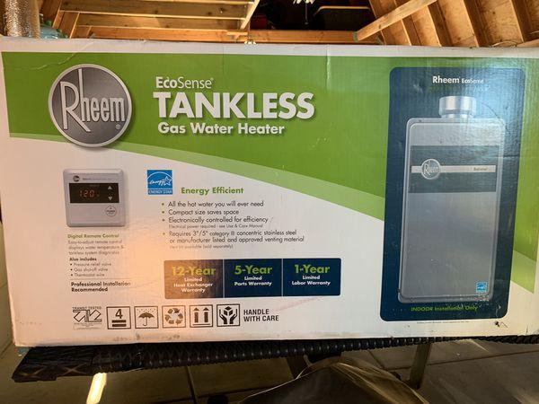 Raheem tankless water heater