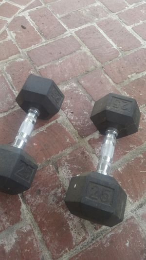 25lb dumbbells very good condition for Sale in Los Angeles, CA
