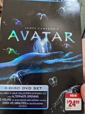 Avatar Extended Collectors Edition 3-Disc Set for Sale in Frisco, TX