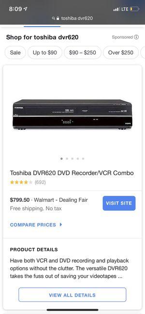 Toshiba DVD & VCR recorder for Sale in Amarillo, TX