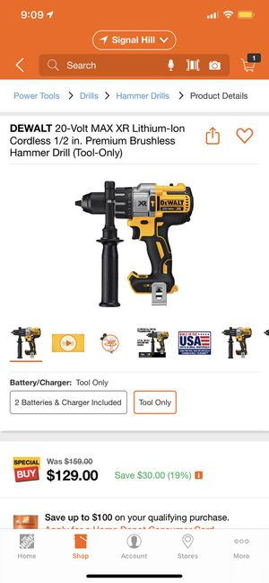 Dewalt hammer drill for Sale in Long Beach, CA