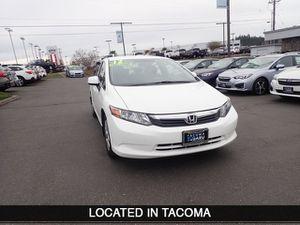 2012 Honda Civic Sdn for Sale in Tacoma, WA