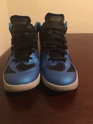 Cheap Nike Zoom Hyperfuse 2012 Basketball Shoes Blue Black for Sale in Riverdale, MD