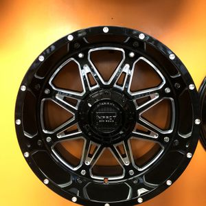 20 Inch Off Road Wheels Tire On Sale Lowest Price In Bay for Sale in Lafayette, CA