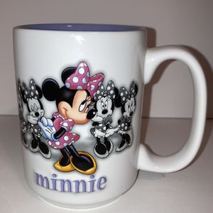 Minnie Mouse Disney Parks Ceramic 3-D Embossed Mug for Sale in Santee, CA
