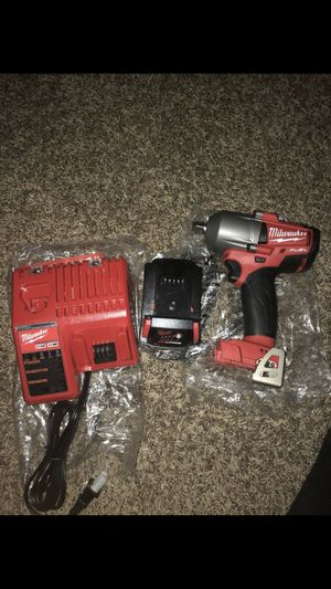 Milwaukee 1/2 cordless impact wrench for Sale in Nashville, TN