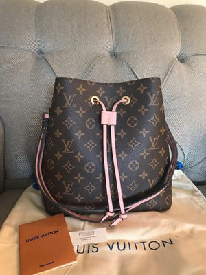 Louis Vuitton LV Monogram Neonoe Bucket Bag Purse Handbag Pink Interior for Sale in Naperville, IL