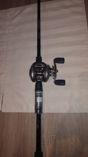 NEW Abu Garcia Orra SX Baitcaster Fishing Rod/Reel for Sale in West McLean, VA