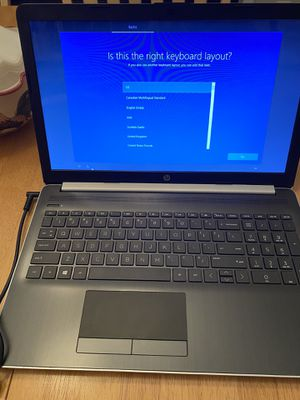 Like new with box. HP Notebook 15-db0031nr. excellent condition Windows 10 cd/dvd drive for Sale in Jacksonville, FL