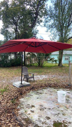 Folding patio umbrella for Sale in Tampa, FL