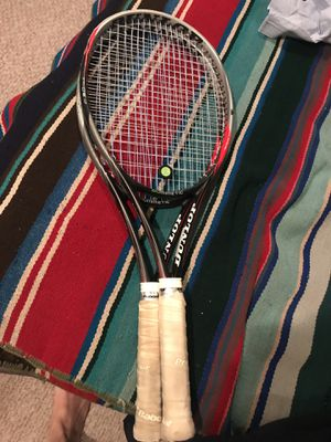 Two Dunlop Tennis Racquets for Sale in Washington, DC