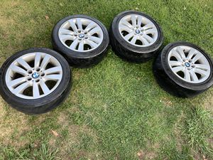 BMW wheels 17s with tires for Sale in Mather, CA