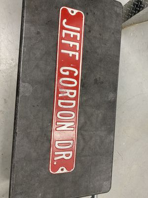 Jeff Gordon road sign collectors for Sale in Tampa, FL