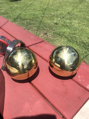 Brass ornamental balls for Sale in Whittier, CA