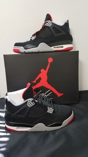NIKE AIR JORDAN RETRO 4 BREDS 2019 SIZE 9 for Sale in Sebring, FL