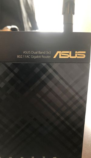 Asus Dual Band Router / RT-AC66R for Sale in Berwyn, IL