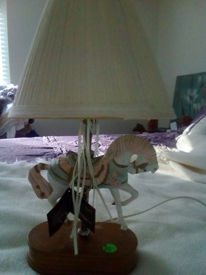 House of Lloyd carousel horse lamp-New for Sale in Uxbridge, MA