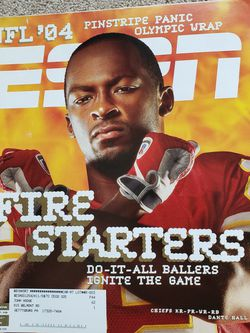 ESPN Magazine September 13, 2004 - Dante Hall, Kansas City Chiefs for Sale in Chambersburg,  PA