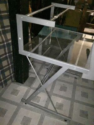 Metal and Glass Desk Free for Sale in Denver, CO