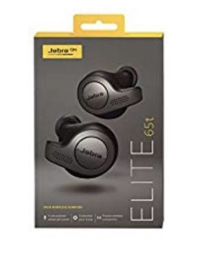 Jabra Elite 65t Alexa Enabled True Wireless Earbuds with Charging Case – Titanium Black for Sale in Orlando, FL