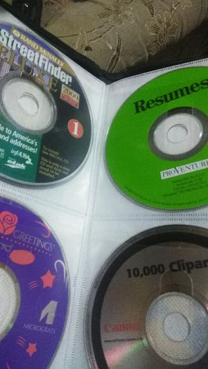 50 windows software discs for Sale in Kansas City, MO