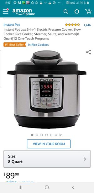 Brand New Never Used Instant Pot for Sale in Mitchell, IL
