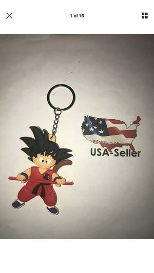 Dragon Ball Z DBZ Kid Goku Rubber Keychain for Sale in Manassas, VA