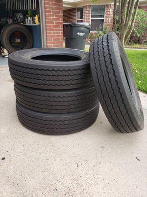 Brand New Pirelli 11 R 24.5 Trailer Tires for Sale in Houston, TX