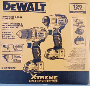 Dewalt Xsteme Brushless Drill Kit for Sale in Bristol, VA