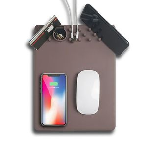 MULTI-FUNCTION ORGANIZER MOUSE PAD WITH WIRELESS CHARGING for Sale in Beulah, MI
