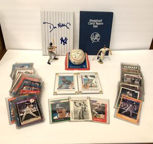 Huge Don Mattingly/Yankees Baseball Card & Figure Collection for Sale in Paso Robles, CA