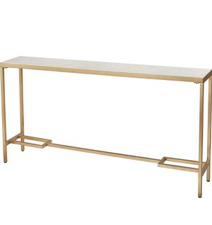 *Brand New* Elk Home Equus Tall console table, Gold for Sale in Dublin, OH