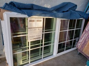 2 Large NEW Windows 71.5/ 35.($120 each for Sale in Dinuba, CA