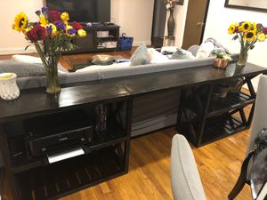 Rustic Modern Farmhouse Style Console Table for Sale in Charlotte, NC