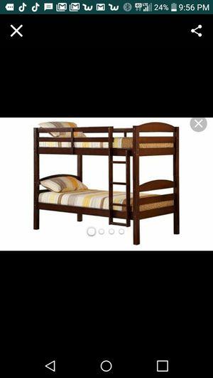 Wooden bunk beds for Sale in Bedford, VA