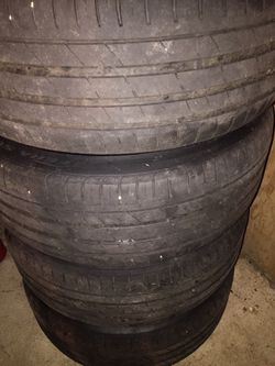 "Rims n tires extra spare 2 tires 20"" for Sale in Victoria,  VA"