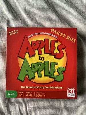 Apples to Apples game for Sale in Spring City, PA