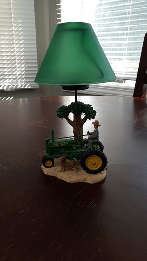 COLLECTABLE JOHN DEERE CANDLE LAMP for Sale in East Islip, NY