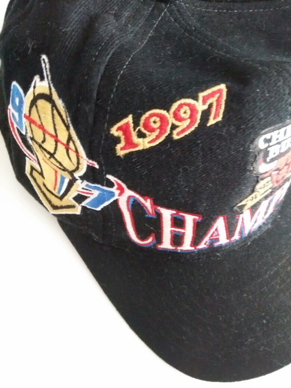 ec3d37ac43a0f 1997 NBA Chicago bulls hat cap championship for Sale in Avondale