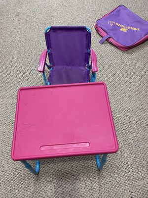 Table mate kids desk and chair for Sale in Granby, CT