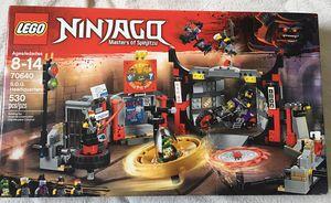 LEGO 70640 Ninjago S.O.G. Headquarters $20 (530 pcs) for Sale in Arlington, VA
