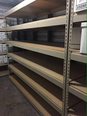Heavy duty shelving unit 70x60x32 Garage Storage System Rack warehouse for Sale in Alexandria, VA