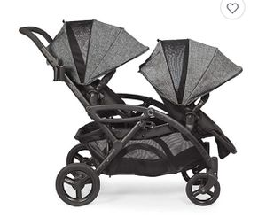 Contours Options Elite Tandem Stroller in Graphite for Sale in Long Beach, CA